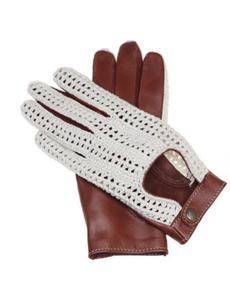 8e454df5165251 Unikalne damskie rękawiczki samochodowe w stylu włoskim, rękawiczki z tkaną  siatką - 2870022754