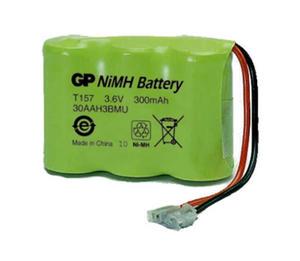 Akumulator do telefonów bezprzewodowych GP T157 P-P301 - 2840777249