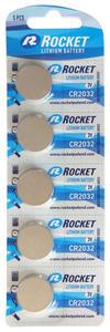 5 x bateria litowa Rocket CR2032 - 2854940312