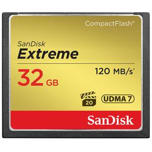 Karta pami?ci SanDisk Compact Flash Extreme 32GB (CF) 120MB/s 800x - 2840777355
