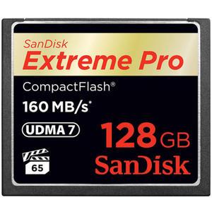 Karta pami?ci SanDisk Compact Flash Extreme PRO 128GB (CF) 160MB/s 1067x - 2840777360
