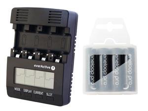 ?adowarka everActive NC-3000 + 4 akumulatory Panasonic ENELOOP PRO R6/AA 2550 mAh - 2351808002