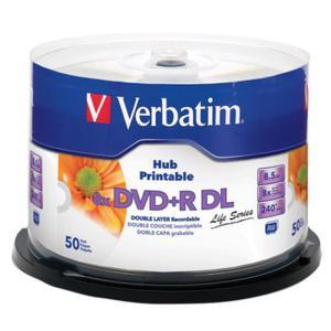 P?yty DVD+R DL 8,5GB 8X VERBATIM PRINTABLE cake 50 - 2852585837