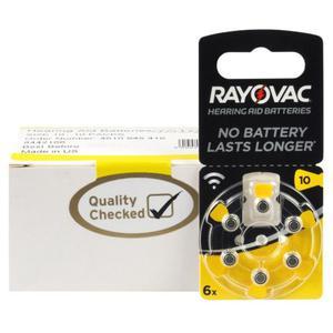 60 x baterie do aparatów s?uchowych Rayovac Acoustic Special 10 - 2840777317