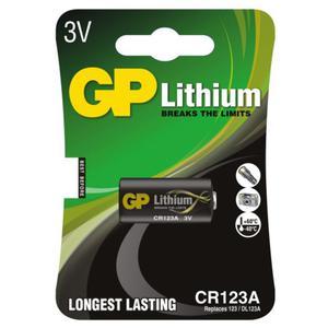 bateria foto litowa GP CR123 - 2840776885