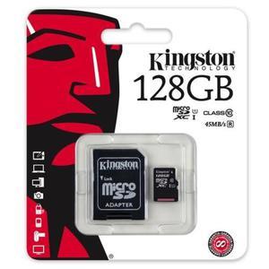 karta pami?ci Kingston microSDXC 128GB class 10 UHS-I + adapter SD - 2852130950