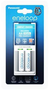 ?adowarka Panasonic Eneloop BQ-CC50 + 2 x R6/AA Eneloop 2000mAh BK-3MCCE - 2840777342