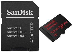 karta pami?ci SanDisk microSDXC 128GB Extreme 600x 90MB/s UHS-I U3 V30 - 2850390182