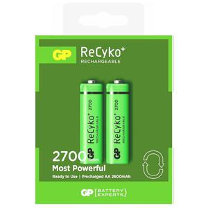 2 x akumulatorki R6/AA GP ReCyko+ 2700 Series 2600mAh