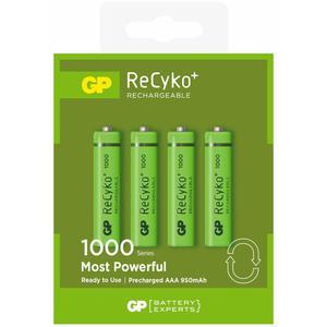 4 x akumulatorki R03/AAA GP ReCyko+ 1000 Series 950mAh