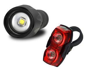 zestaw lamp rowerowych everActive FL-600 z uchwytem + everActive TL-X2 - 2852585802