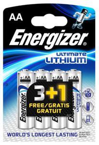 4 x bateria foto litowa Energizer L91 Ultimate Lithium R6 AA - 2351808245