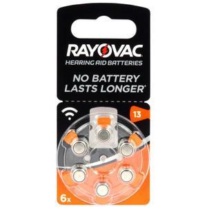 6 x baterie do aparatów s?uchowych Rayovac Acoustic Special 13 - 2849384544