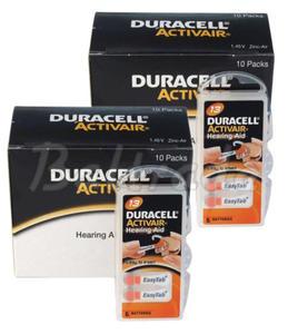120 x baterie do aparatów s?uchowych Duracell ActivAir 13 - 2840777393