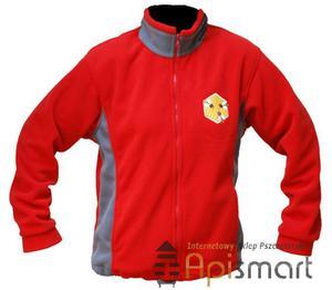 Polar z haftem (czerwony) - 2825618759