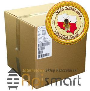 Nakrętka na miód - wzór ANK5 Pakowane po 700 szt. KARTON ZBIORCZY - Karton 700 szt. wzór ANK5 - 2825618797