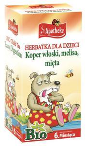 Herbatka dla dzieci - na trawienie BIO - Apotheke - 20x1,5g - 2882247915
