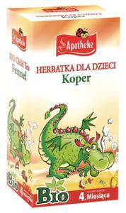 Herbatka dla dzieci - koper BIO - Apotheke - 20x1,5g - 2884540908