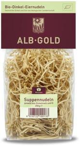 Makaron (orkiszowy jajeczny) nitka BIO - Alb-Gold - 250g - 2882248606