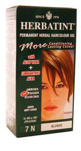 Ziołowa farba do włosów 7N blond - Herbatint - 135ml - 2823602281