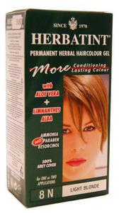 Ziołowa farba do włosów 8N jasny blond - Herbatint - 135ml - 2834977206