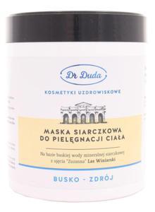 Maska siarczkowa SPA Dr Duda - Busko Zdrój - 500g - 2823602601