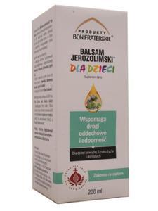 Balsam jerozolimski dla dzieci - Konwent Bonifratr - 2850628232