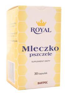 Mleczko pszczele - Bartpol - 30kaps - 2857854569