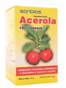 Acerola 500mg - Sanbios - 100tab - 2845179629