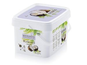 Olej kokosowy virgin - zapachowy BIO - BioPlanete - 2500ml - 2850628253