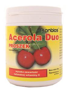 Acerola Duo proszek - Sanbios - 200g - 2852702385