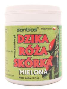 Dzika róża skórka proszek - Sanbios - 200 g - 2855488451