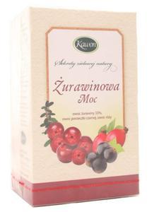 Herbata Żurawinowa Moc - Kawon - 20 saszetek - 2856347549