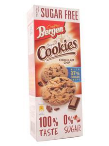 Ciastka bezcukrowe z kawałkami czekolady - Bergen - 135g - 2862532513