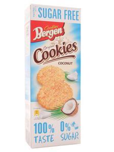 Ciastka bezcukrowe z kokosem - Bergen - 150g - 2862532527