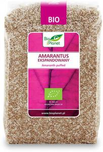Amarantus ekspandowany bio 150 g - bio planet - 2894136993