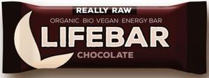 Baton czekoladowy RAW bezglutenowy BIO - Lifefood - 47g - 2880547779