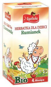 Herbatka dla dzieci - rumiankowa BIO - Apotheke - 20x1g - 2882247628