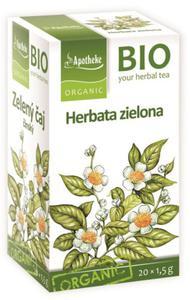 Herbata zielona chińska ekspresowa BIO - Apotheke - 20x1,5g - 2887588151