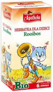 Herbatka dla dzieci - rooibos BIO - Apotheke - 20x1,5g - 2887826485