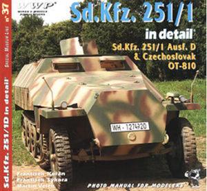 WWP R037 - Sd.Kfz. 251/1 Ausf.D in detail (książka) - 2824101861
