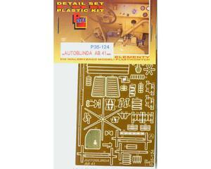Part P35124 - Autoblinda AB 41 (1/35) - 2824102236