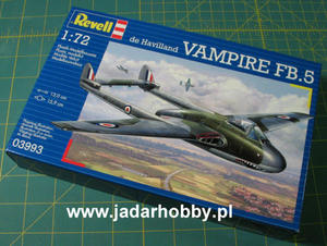Revell 03993 - de Havilland Vampire FB.5 (1/72) - 2824102345