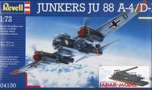 Revell 04130 Junkers Ju 88 A-4/D-1 (1/72) - 2824102347