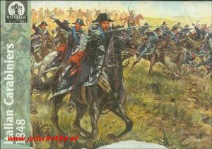 Waterloo 1815 AP005 Italian Carabiniers (1/72) - 2824102813