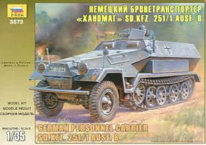 Zvezda 3572 - Sd.Kfz.251/1 Hanomag (1/35) - 2824103054