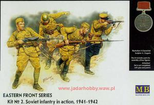 MB 3523 - Soviet infantry in action 1941-1942 (1/35) - 2824103531
