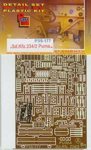 Part P35177 - Sd.Kfz.234/2 Puma (1/35) - 2824103550