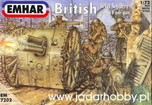 Emhar EM7202 - Brytyjska artyleria z I wojny światowej (1/72) - 2824103677