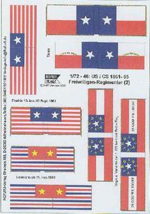 Rofur US Civil War 1861-1865 1/72-46: US/CS Volonteers - 2824104017